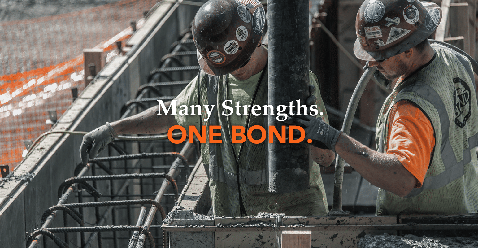 Many Strengths. One Bond.