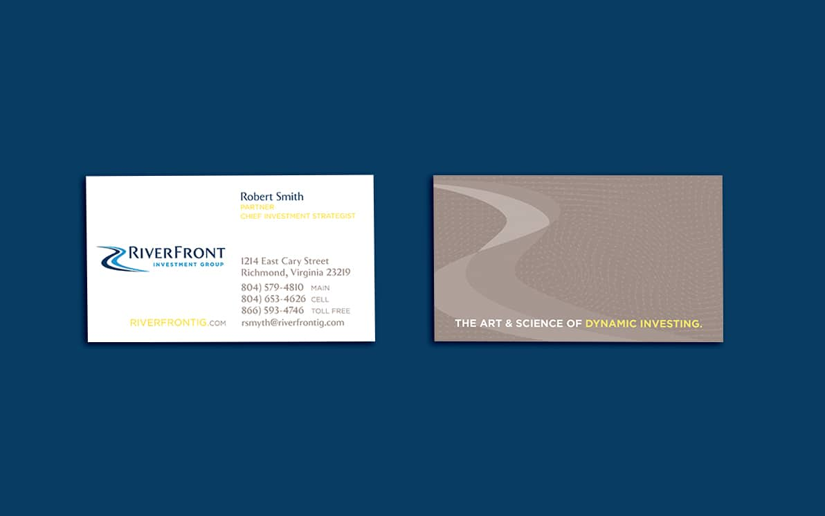 riverfront business cards