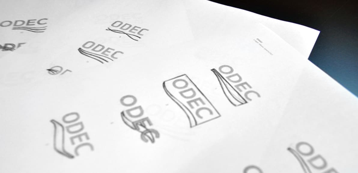 odec logo exploration - b2b branding - circle S studio